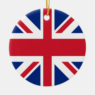 Union Jack - Flag of the United Kingdom Christmas Ornament