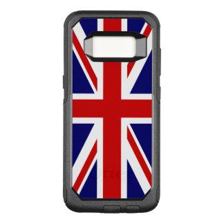 Union Jack Flag of the United Kingdom OtterBox Commuter Samsung Galaxy S8 Case