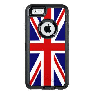 Union Jack Flag of the United Kingdom OtterBox Defender iPhone Case