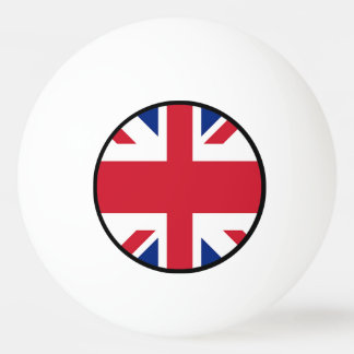 Union Jack - Flag of the United Kingdom Ping Pong Ball
