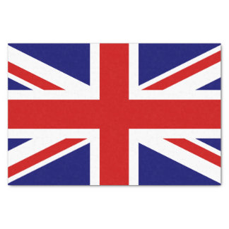 Union Jack Flag of the United Kingdom Tissue Paper