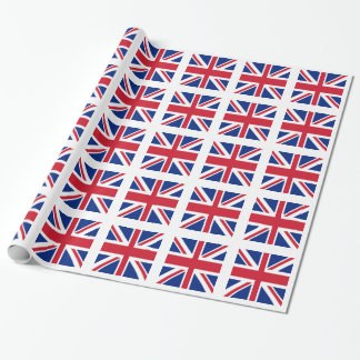 Union Jack - Flag of the United Kingdom Wrapping Paper