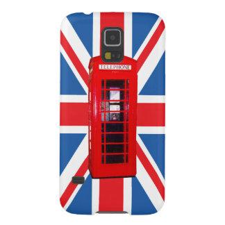 Union Jack/Flag & Phone Box Design Galaxy S5 Case