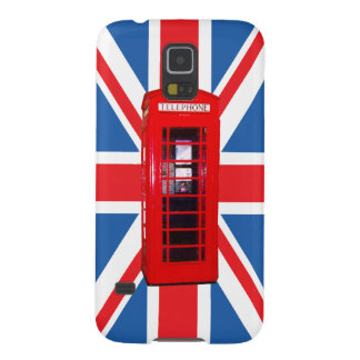 Union Jack/Flag & Phone Box Design Galaxy S5 Cover