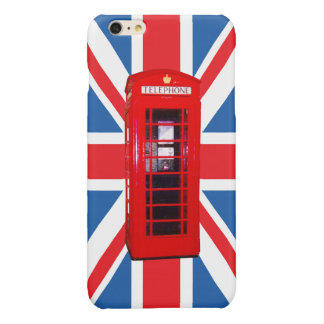 Union Jack/Flag & Phone Box Design iPhone 6 Plus Case