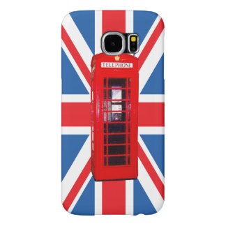 Union Jack/Flag & Phone Box Design Samsung Galaxy S6 Cases