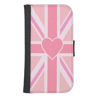 Union Jack/Flag Pinks & Heart