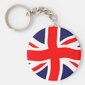 Union Jack Flag - Plain and Personalizable Key Chain