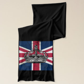 Union Jack Flag Queen of England Diamond Jubilee Scarf