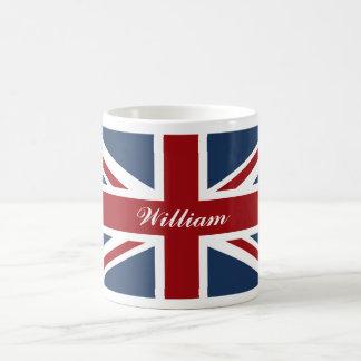 Union Jack Flag Red White and Blue Coffee Mug
