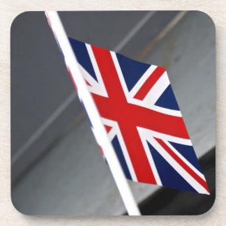 Union Jack Flag Set of 6 Coasters