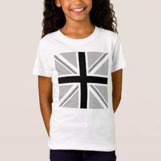 Union Jack/Flag Square Monochrome T-Shirt