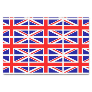 Union Jack flag Tissue Paper