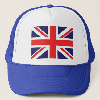 Union Jack Flag Trucker Hat