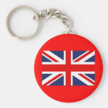 Union Jack Flag-United Kingdom Keychain