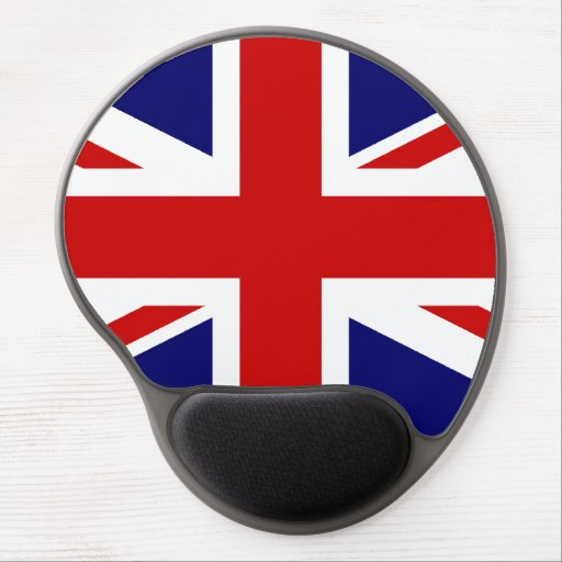 union jack gel mousepad