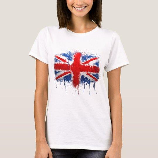 Union Jack Graffiti T-Shirt