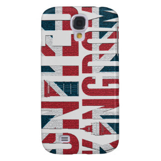 Union Jack Great Britain Flag Big Ben Concept Galaxy S4 Case