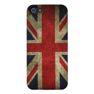 Union Jack Grunge Case For The iPhone 5