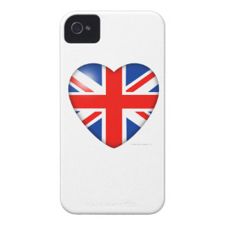 Union Jack Heart iPhone 4 Cover