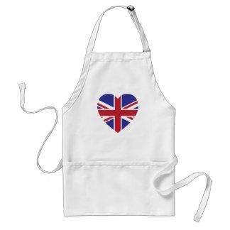 Union Jack Heart Kitchen Apron
