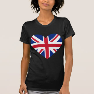 Union Jack Heart Shape T-Shirt