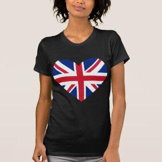 Union Jack Heart Shape T-Shirt