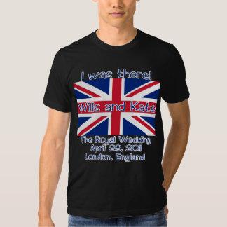 Union Jack I WAS THERE Royal Wedding Tshirt