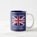 Union Jack I WAS THERE Royal Wedding Tshirt Two-Tone Mug