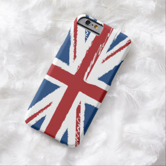 Union Jack in Abstract Scribble Barely There iPhone 6 Case