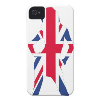 Union jack iPhone 4 cover