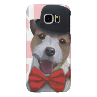 Union Jack Jack Russell Samsung Galaxy S6 Cases