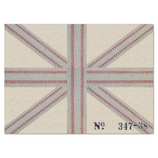 Union Jack Jute Webbing Decoupage Tissue Paper