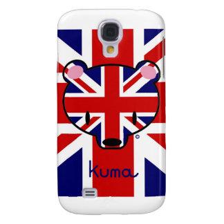 Union Jack Kuma-chan Galaxy S4 Case