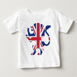 Union Jack Lion Rampant Baby T-Shirt
