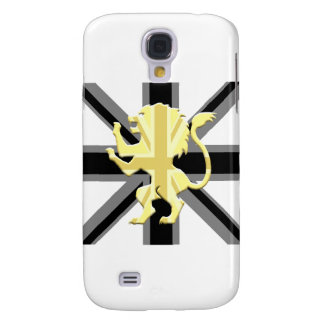 Union Jack Lion Rampant Black Galaxy S4 Case