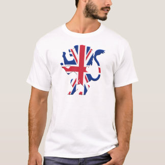 Union Jack Lion Rampant T-Shirt