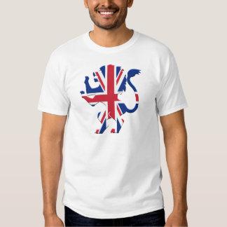 Union Jack Lion Rampant Tee Shirts