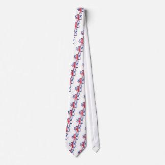Union Jack Lion Rampant Tie