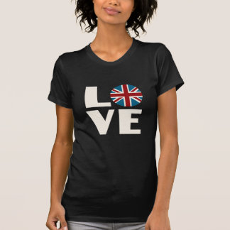 Union Jack Love Tshirts
