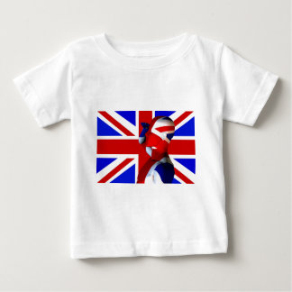 Union Jack Man Baby T-Shirt