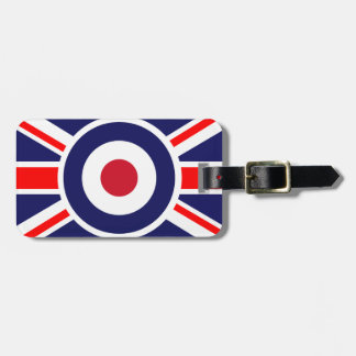 Union Jack Mods England Target Luggage Tag