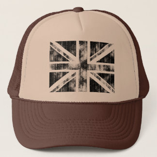 Union Jack Mono Trucker Hat