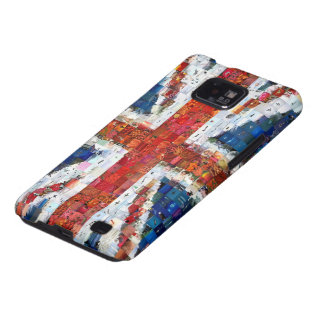 Union Jack Montage Samsung Galaxy SII Cover