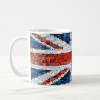 Union Jack Montage Coffee Mug