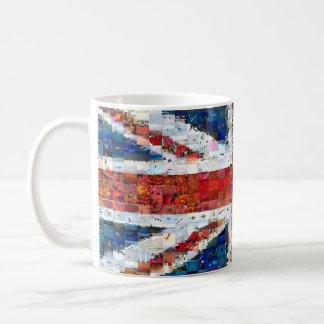 Union Jack Montage Coffee Mug