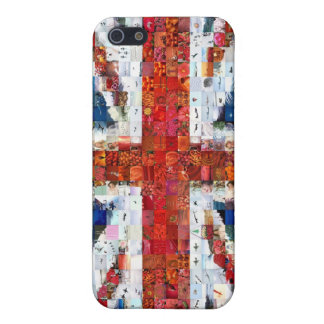 Union Jack Montage iPhone 5 Cover