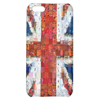 Union Jack Montage iPhone 5C Cover