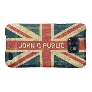 Union Jack Name Template Samsung Galaxy S2 Covers