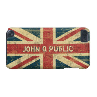 Union Jack Name Template iPod Touch (5th Generation) Cover